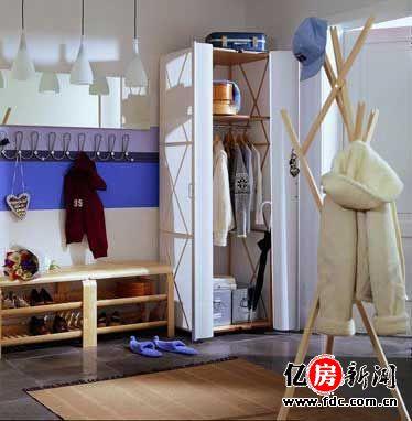 衣柜内部结构框架