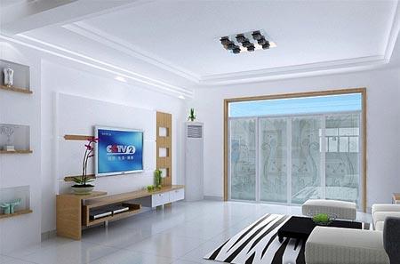 现代时尚经典 客厅吊顶装修效果图
