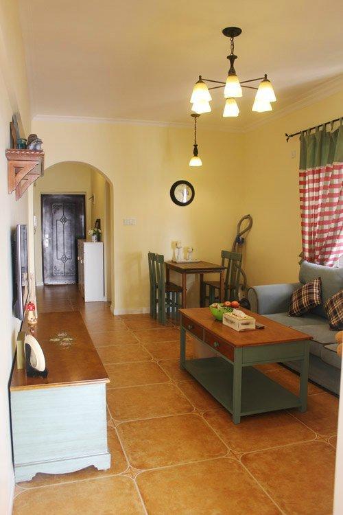 65平米单身公寓 女汉子独自装修的家