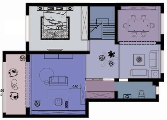 复式室内平面设计图