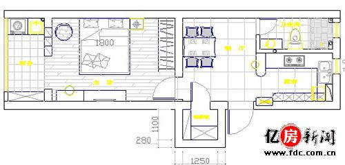 先上房子的设计图