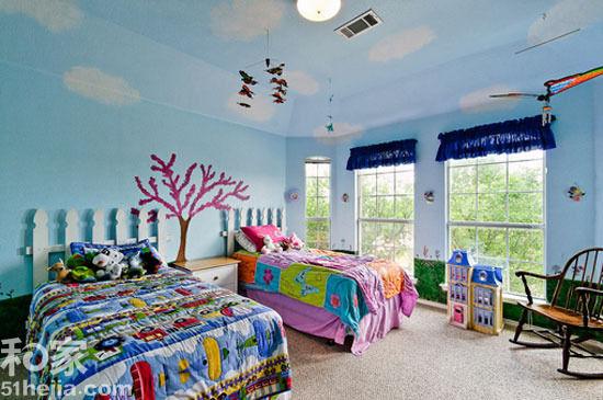 孩子的梦幻乐园 8款手绘背景墙缔造童趣