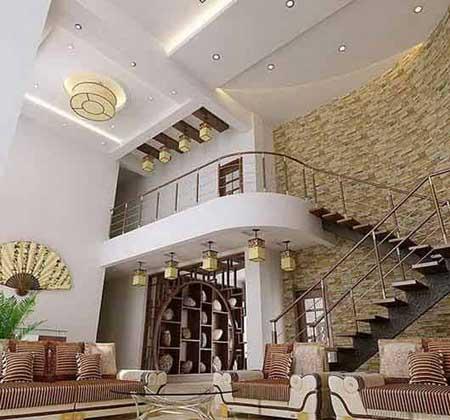 最新跃式客厅装修图片 22款复式客厅的设计方案