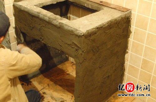 水泥台盆制作详细步骤解析