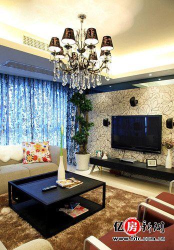时尚家居装修效果图 高品质的家居生活 170平15万硬装 玩