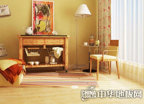 强化复合地板客厅装修效果图