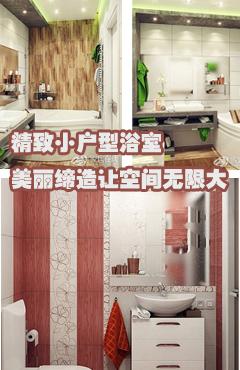 精致小户型浴室 美丽缔造让空间无限大
